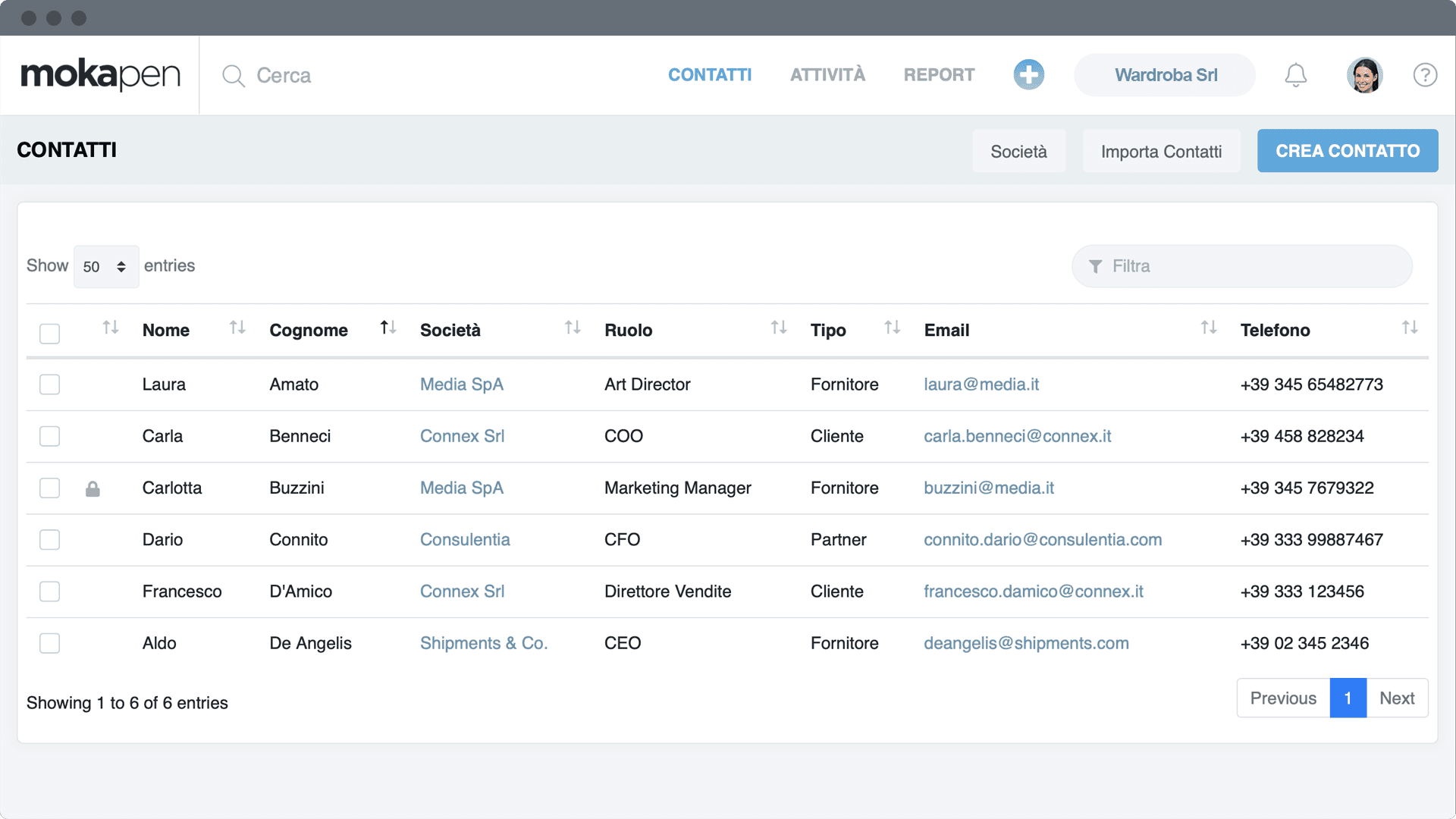 Create projects and tasks for your teams.